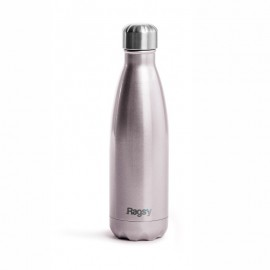 Rags'y fashion bottle 500 ml | Silver Rose