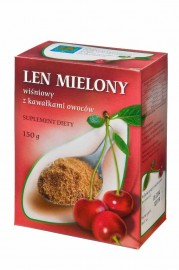 Len mielony wiśniowy 150 g Suplement Diety