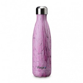 Butelka Rags'y fashion bottle 500ml | Purple Wood