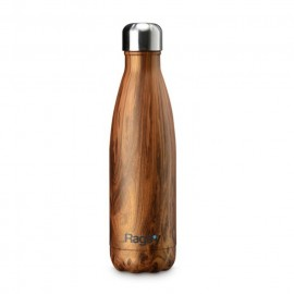 Butelka Rags'y fashion bottle 500ml | Walnut Wood