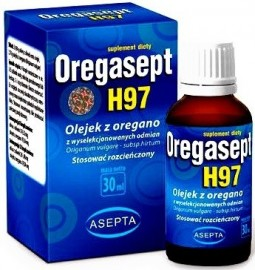 ASEPTA Oregasept H97 30ml - Olejek z oregano