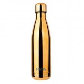 Butelka Rags'y fashion bottle 500ml | Metallic Gold