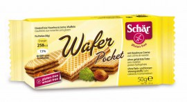 Wafer pocket bezglutenowe 50 G